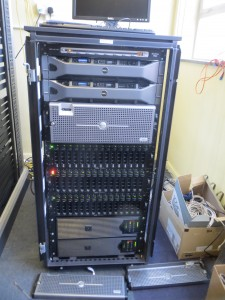 Our compact ESX cluser with storage nodes